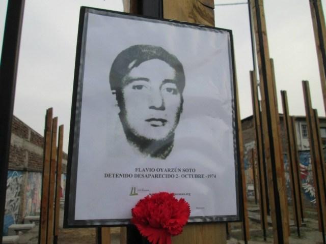 Flavio Arquimides Oyarzún Soto. Detenido Desaparecido el 2 de octubre de 1974