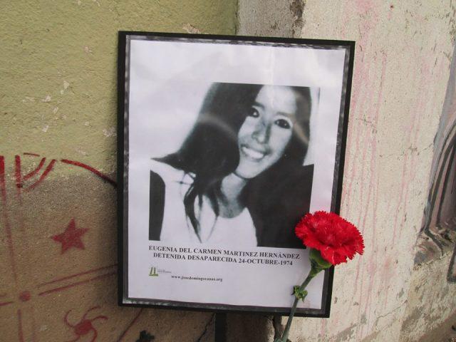 Eugenia del Carmen Martínez Hernández  Detenida Desaparecida el 24-10-74