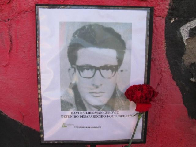 David Silberman Gurovic Detenido Desaparecido el 4 de octubre de 1974