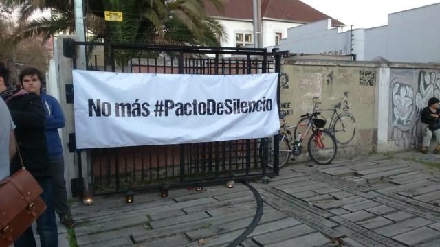 Exigimos el fin de los pactos de silencio.