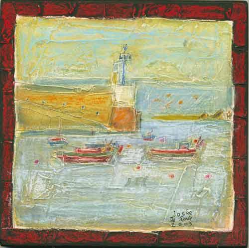 Le port de Molène