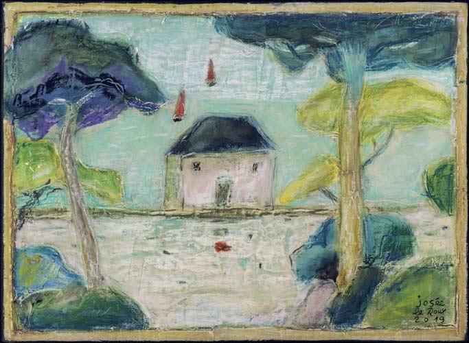 Île de Bréhat, Josée Le Roux