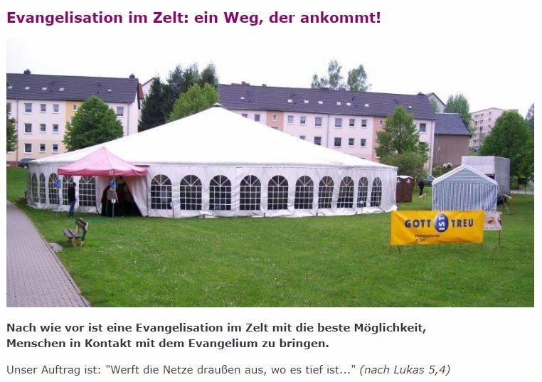 Esslingen-Zell-Zeltevangelisation