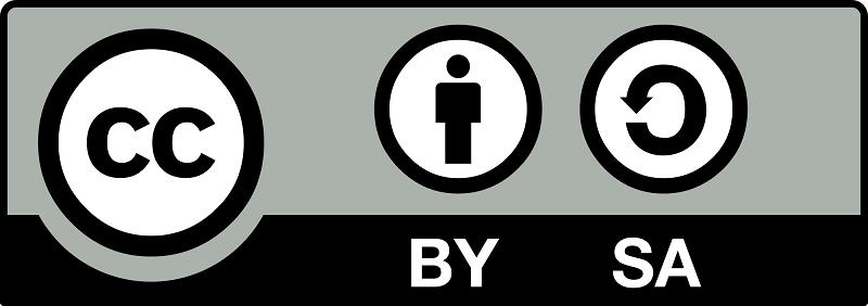 Licencia de autor Creative Commons (Reconocimiento - Compartir Igual - CC by-sa)