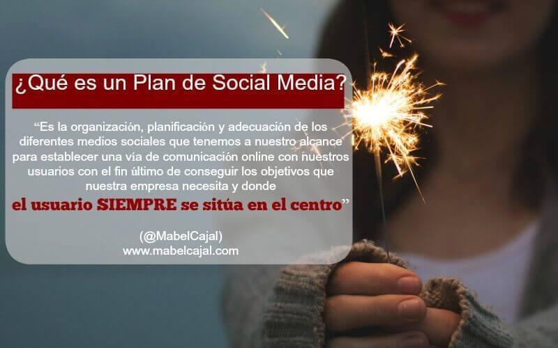 ¿Qué es un plan de social media marketing?