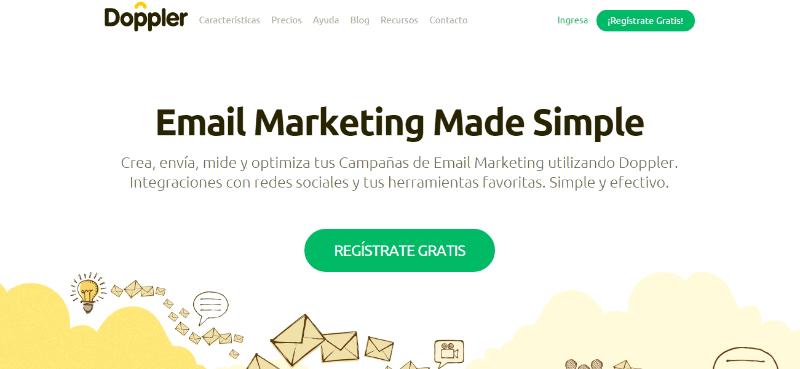 Doppler - Herramientas de email marketing