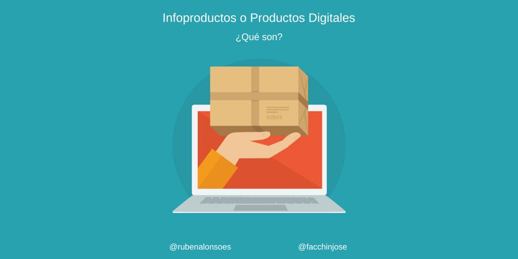 ¿Qué son los infoproductos o productos digitales de información?