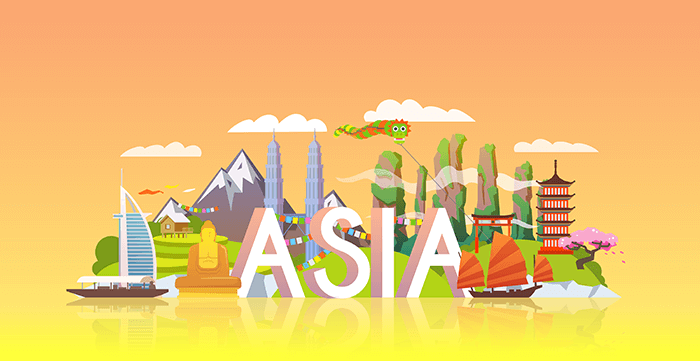 Asia: no de los mejores destinos para ser nómada digital