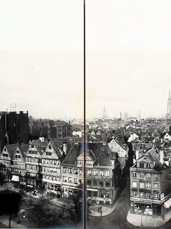 Hamburg 1904, Stadtpanorama