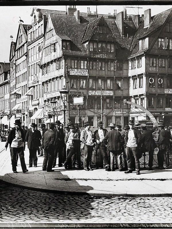 Hamburg 1899, Roosenbrücke