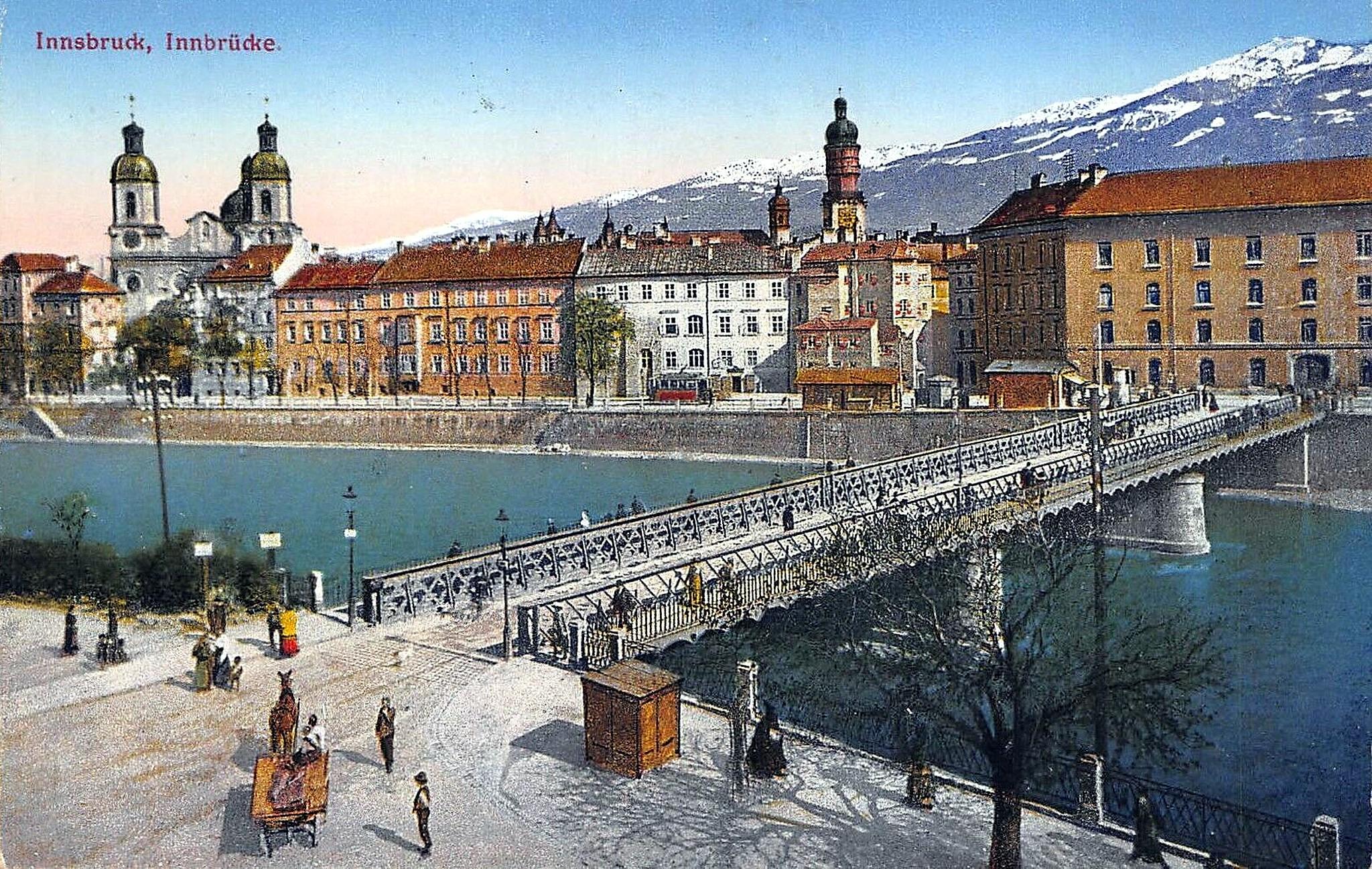 Innsbruck 1900, Innbrücke