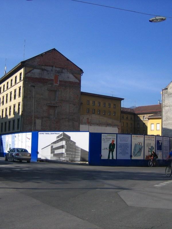 Innsbruck 2006, Baulücke