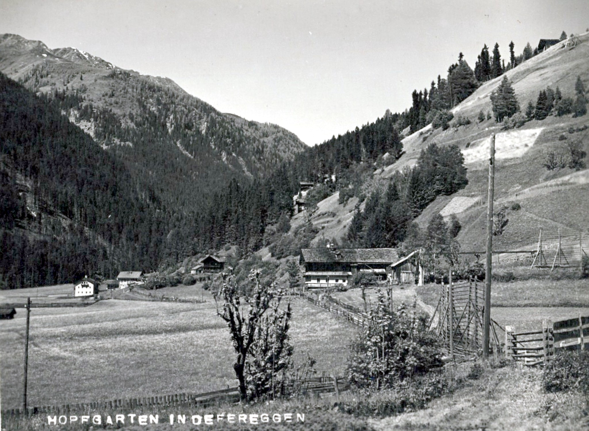 Hopfgarten in Defereggen 1930, Höfe