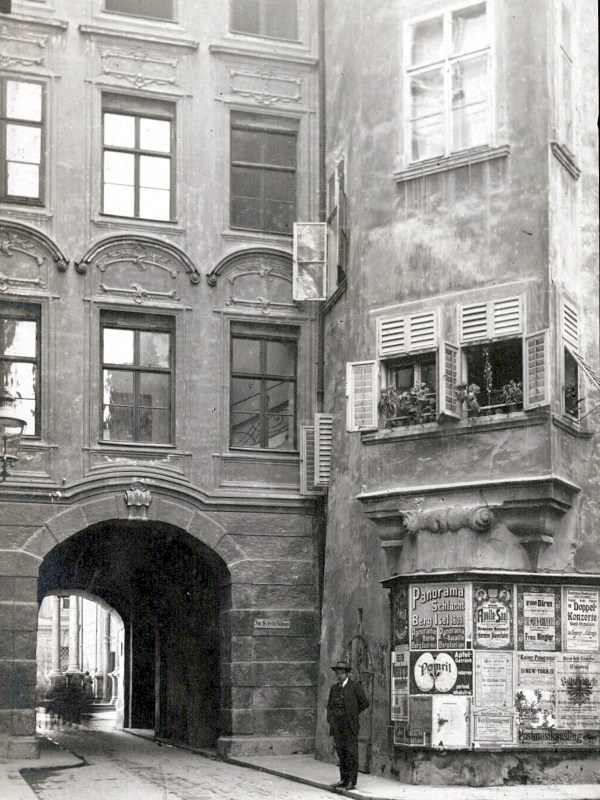 Innsbruck 1919, Plakate in der Hofgasse