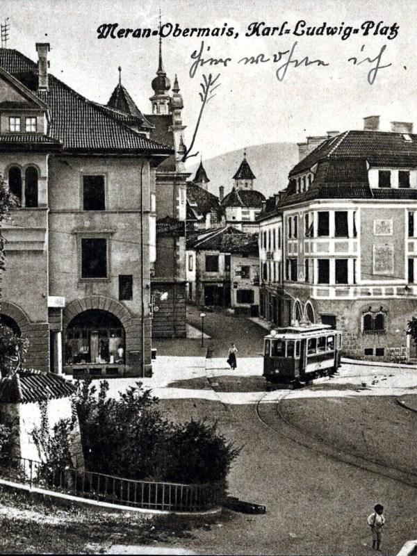 Meran 1920, Karl-Ludwig-Platz