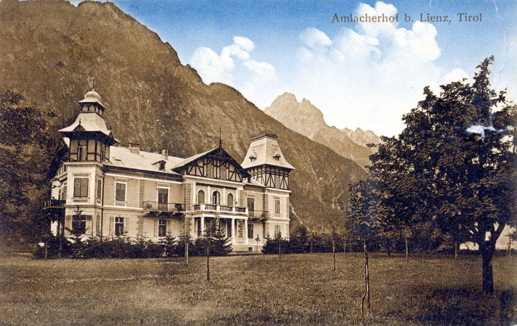 Lienz 1905, Amlacherhof