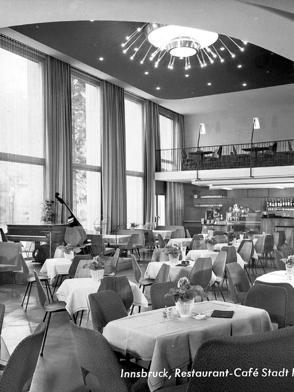 Innsbruck 1960, Legendäres Café