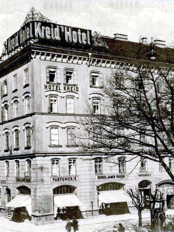 Innsbruck 1910, Hotel Kreid