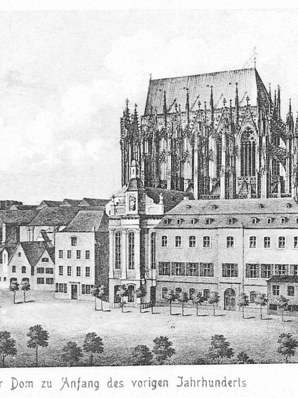 Köln 1810, Domkran
