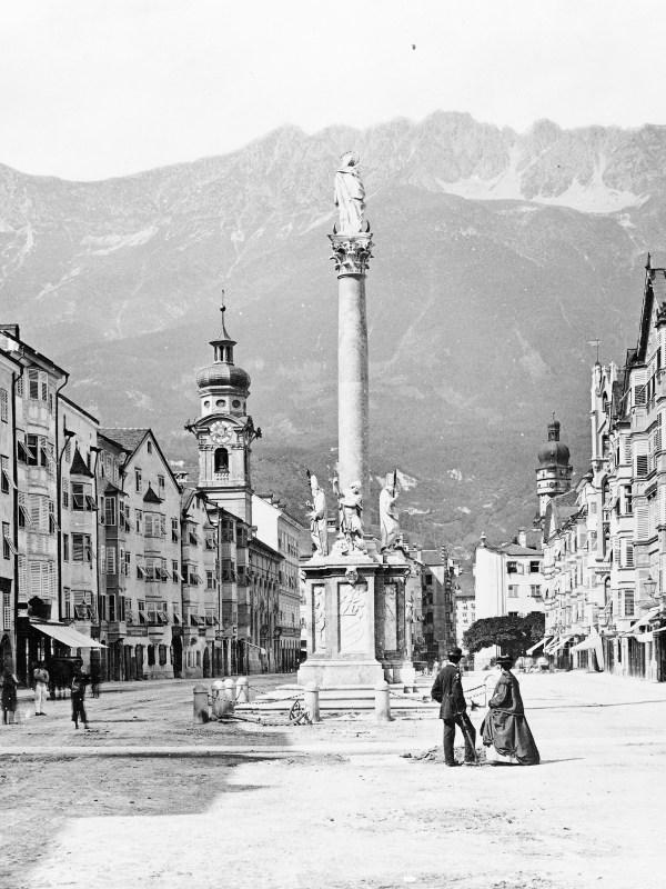 Innsbruck 1860, Straßenbild