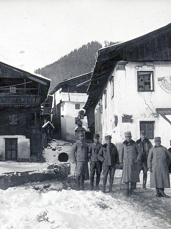 Obertilliach 1916, Kriegswinter