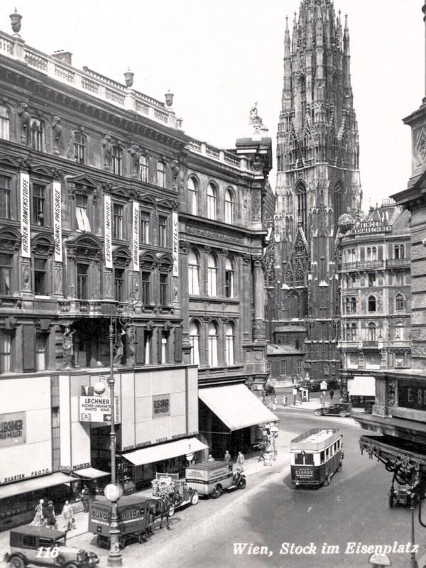 Wien 1930, Stock-im-Eisen-Platz
