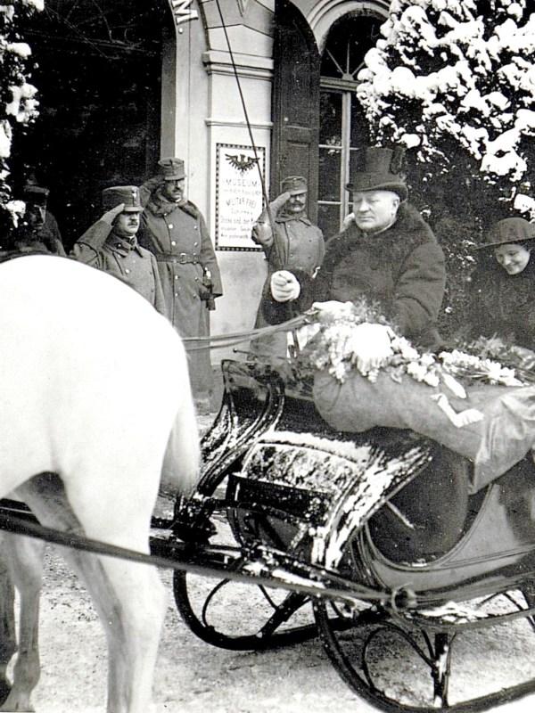 Innsbruck 1917, Kaiserlicher Besuch