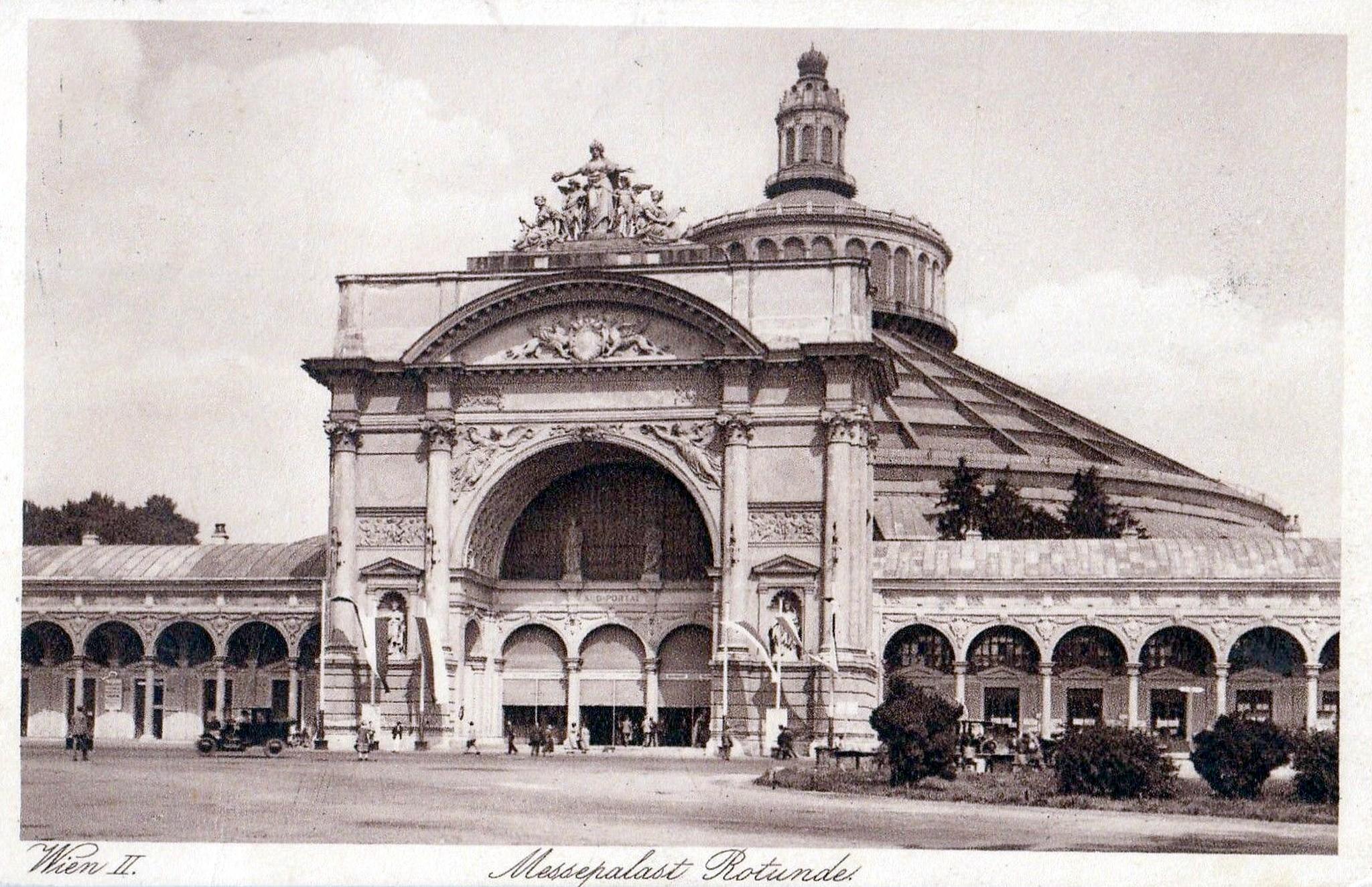 Wien 1920, Messepalast Rotunde