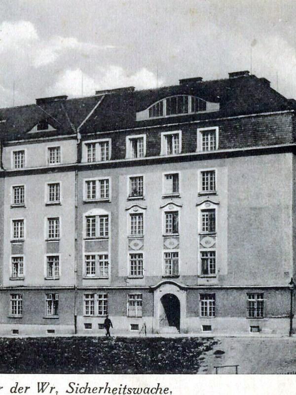 Wien 1925, Sicherheitswache