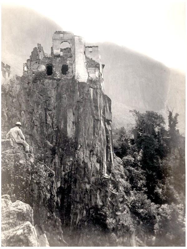 Bozen 1875, Ruine Haselburg