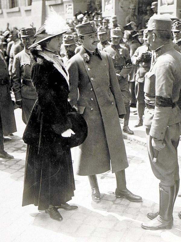 Bozen 1917, Der Kaiser im Gespräch