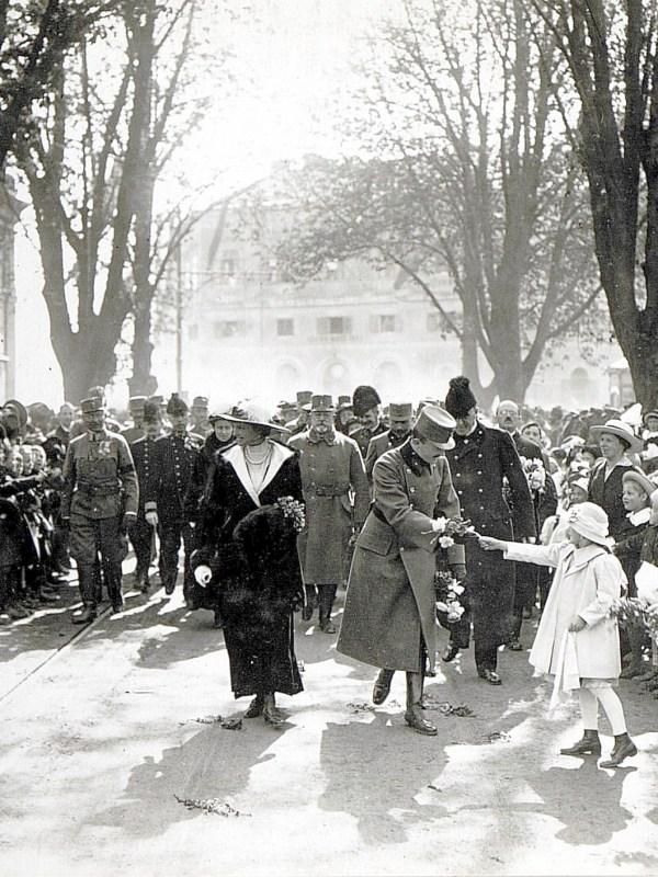 Bozen 1917, Kaiserlicher Besuch
