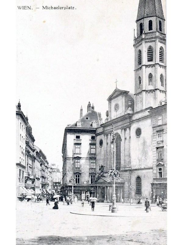 Wien 1910, Michaelerplatz