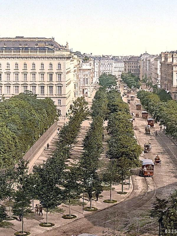 Wien 1890, Opernring