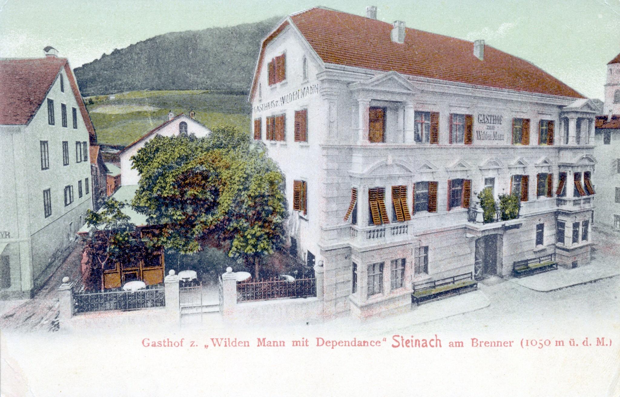 Steinach 1900, Wilder Mann