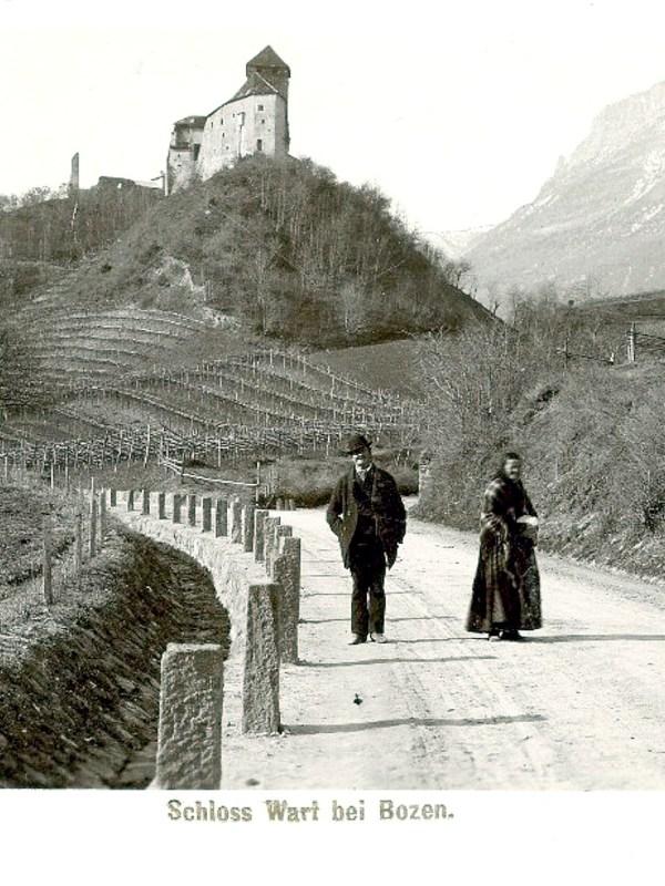 Eppan 1899, Burg Warth