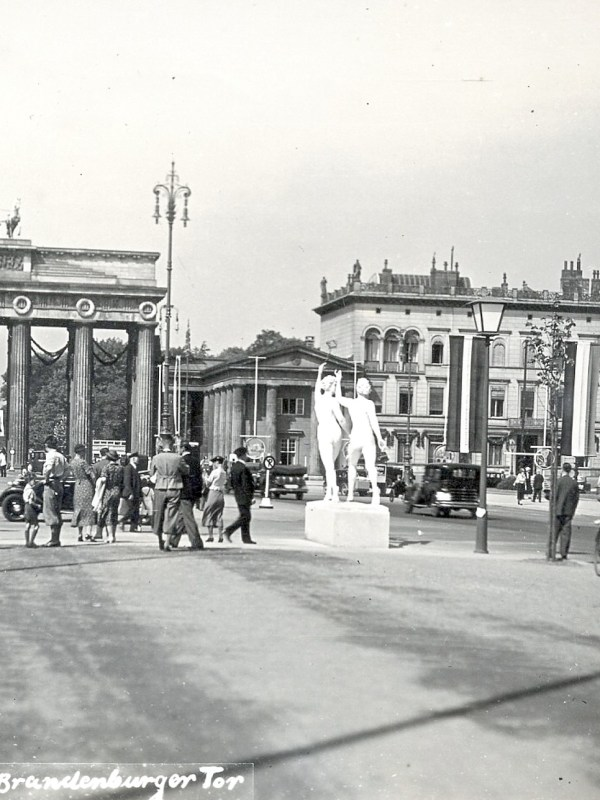 Berlin 1936, Brandenburger Tor