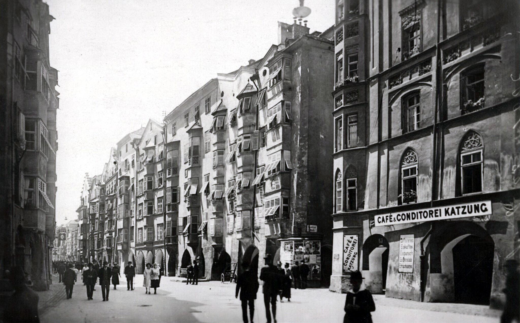 Innsbruck 1925, Häuserbild