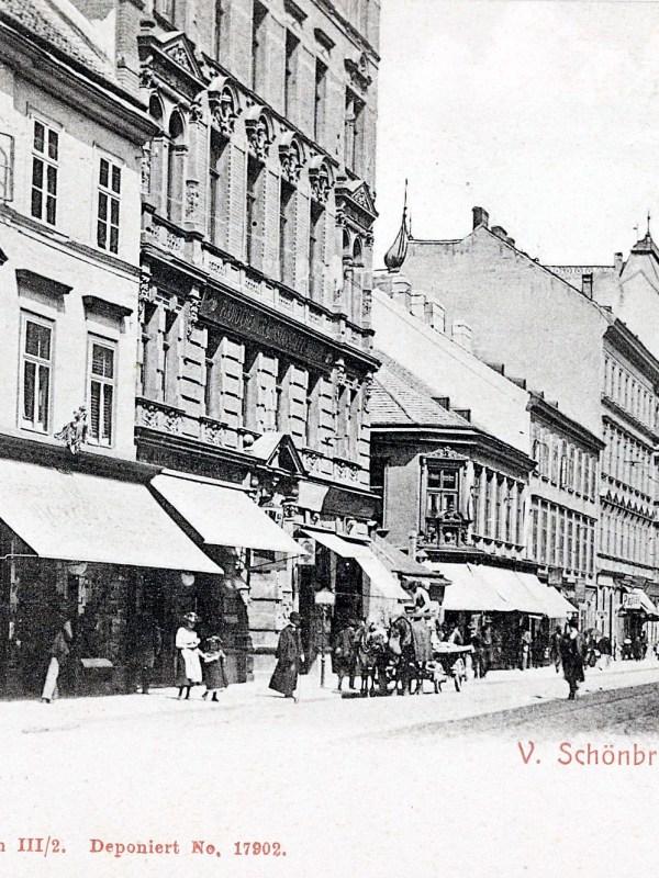 Wien 1900, Schönbrunner Straße