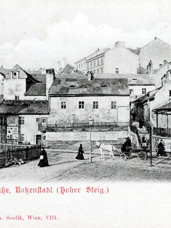 Wien 1898, Magdalenengrund