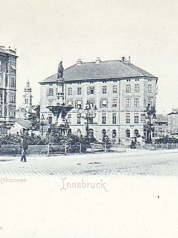 Innsbruck 1899, Rudolfsbrunnen