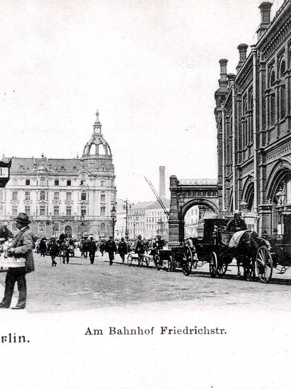 Berlin 1905, Friedrichstraße