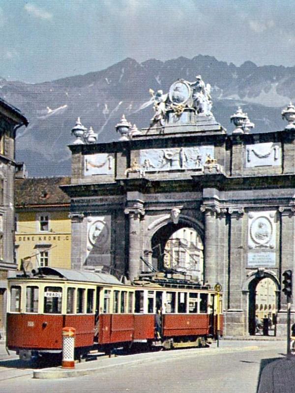 Innsbruck 1954, Triumphpforte