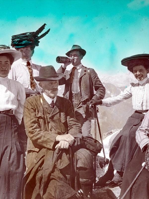 Sulden 1905, Gipfelstürmer
