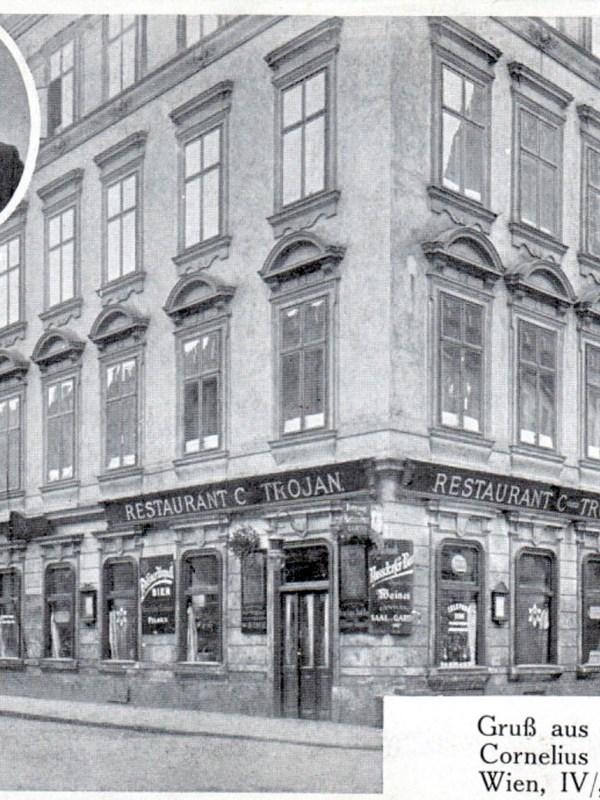 Wien 1905, Trojans Restaurant