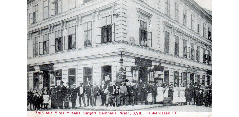 Wien 1905, Gasthaus