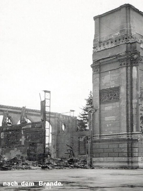 Wien 1937, Brandruine
