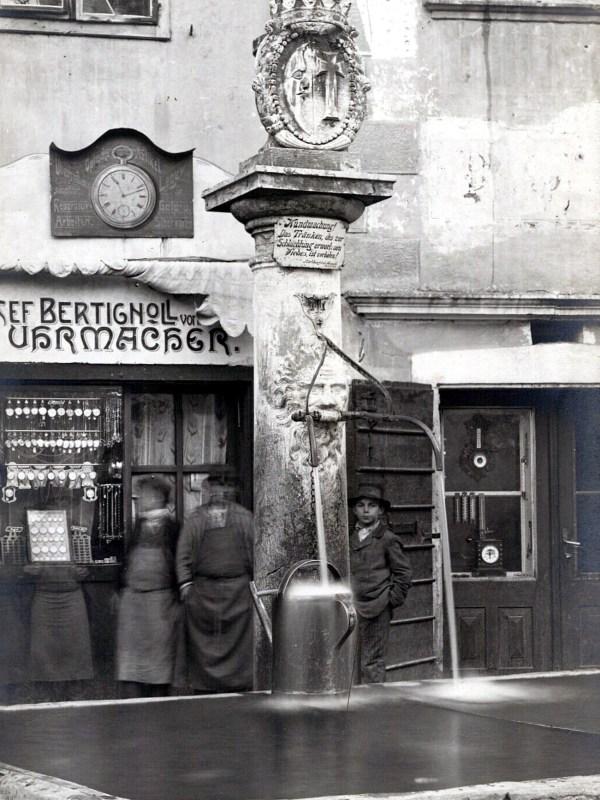 Neumarkt 1910, Alltagsleben