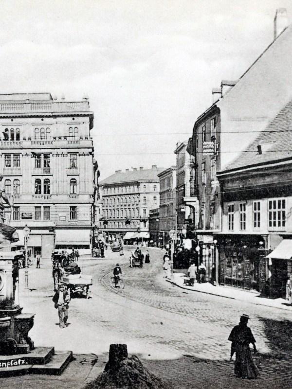 Wien 1903, Margarethenplatz