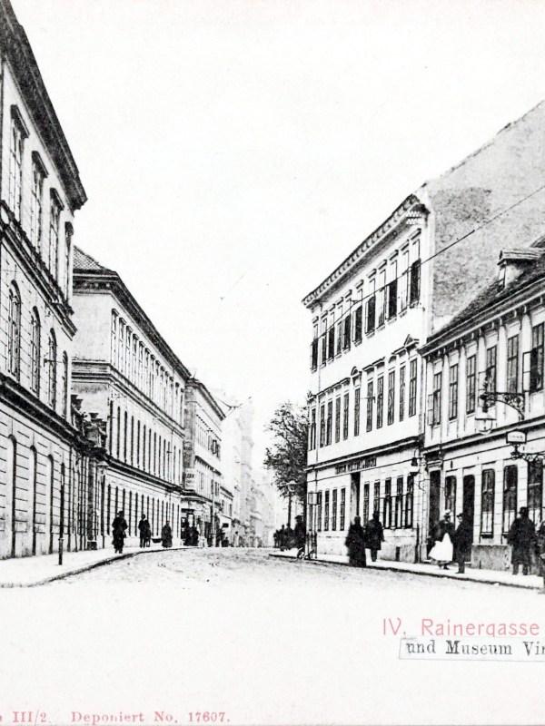 Wien 1901, Rainergasse